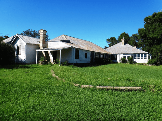 Newstead Homestead. Photo taken by author 4 February 2013