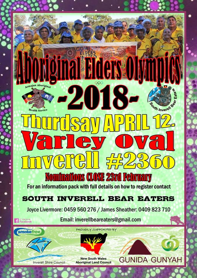 Aboriginal Elders Olympics Inverell Shire