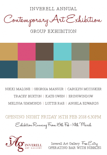 Inverell Art Gallery Contemporary Exhibition