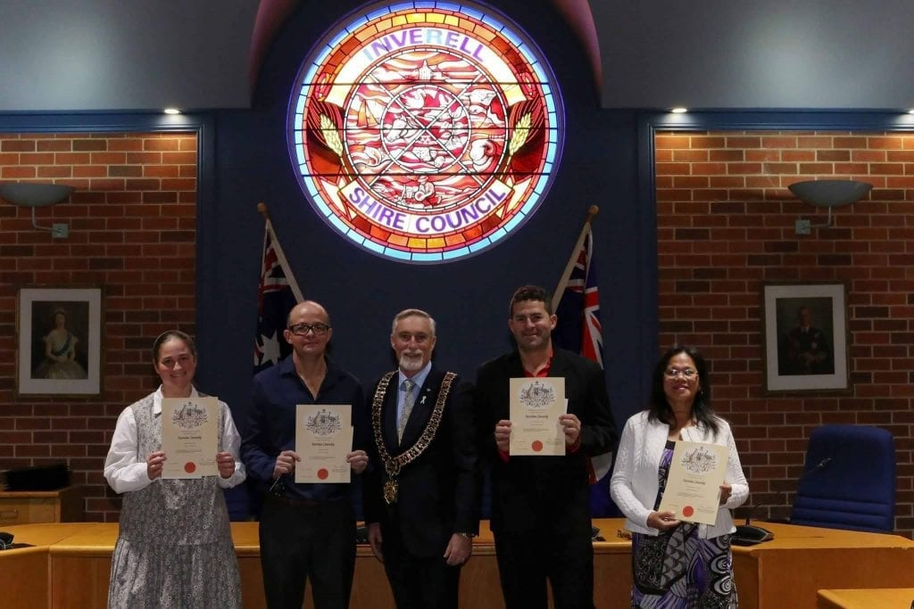 Inverell's Newest Australian Citizens