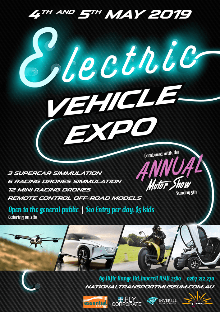 Electric Vehicle Expo - 4-5 May 2019 - National Transport Museum