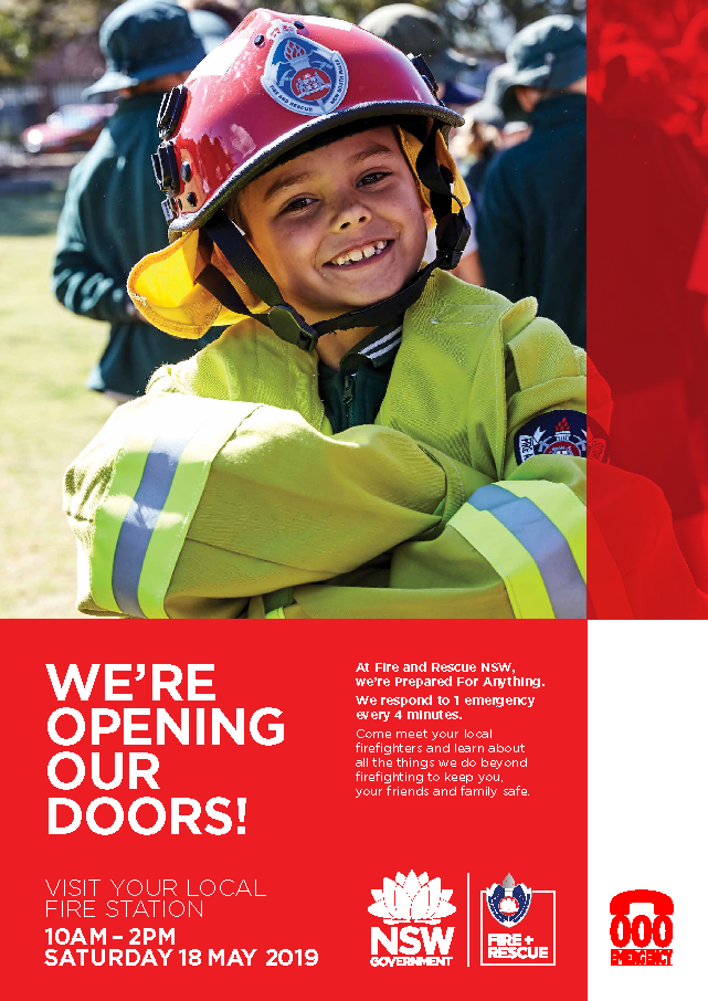 Inverell Fire Station Open Day - 18 May 2019 - 10am