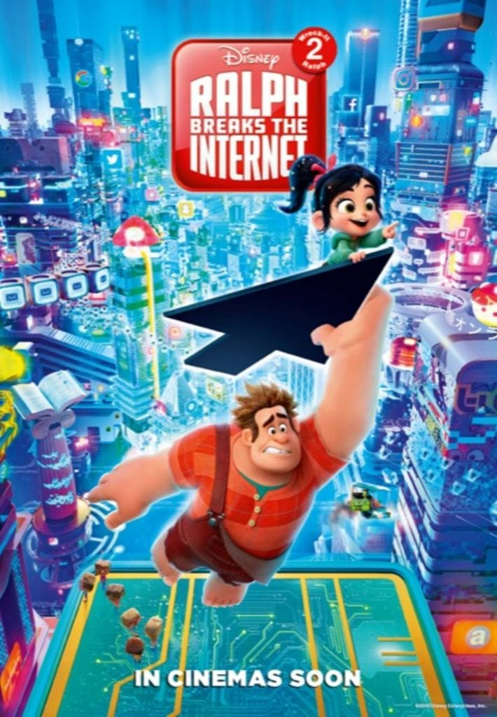 Movie Screening at the Library: Ralph Breaks the Internet - 16th April 2019, 2pm - Inverell Library