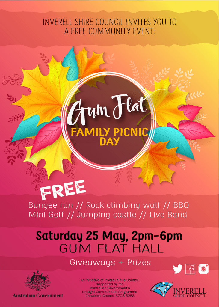 Gum Flat Family Picnic Day - 25 May 2019