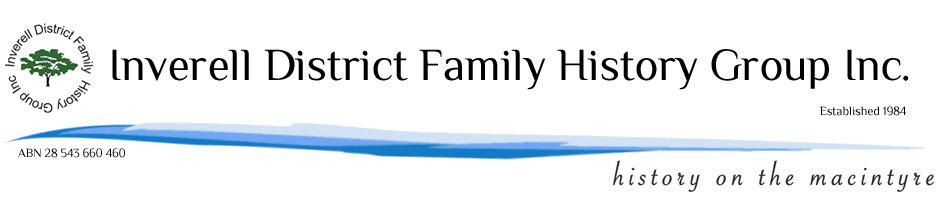 Inverell District Family History Group