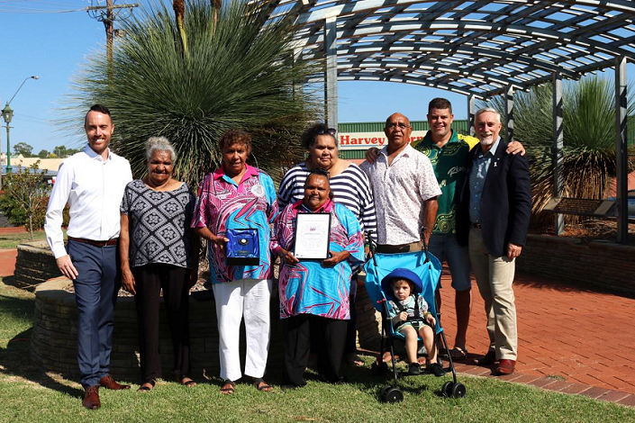 The team behind the Aboriginal Elders Olympics claimed the Event of the Year award in January this year.
