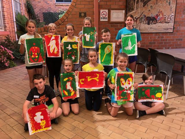 Image: Ages 5-16 showed their artistic talents.