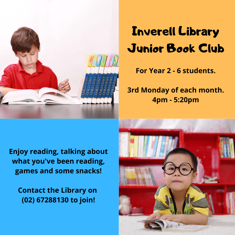 Inverell Library Junior Book Club