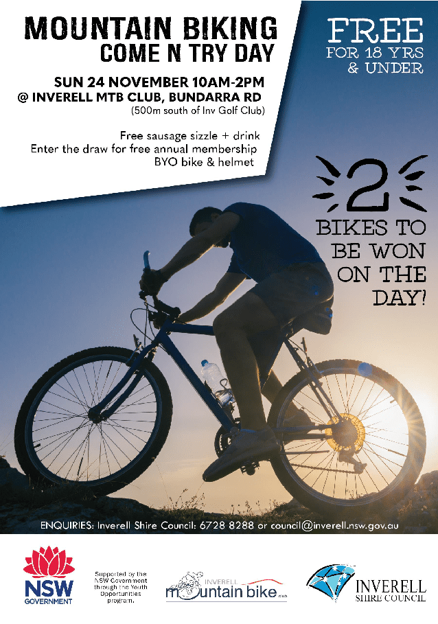 Mountain Biking Come and Try Day