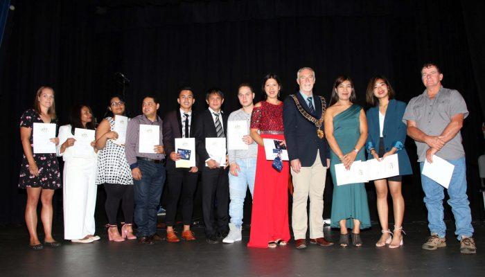Citizenship recipients - Australia Day 2020 Citizenship Ceremony