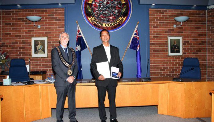 Citizenship recipient - Allan Abuan of the Philippines - July 2020 Citizenship Ceremony