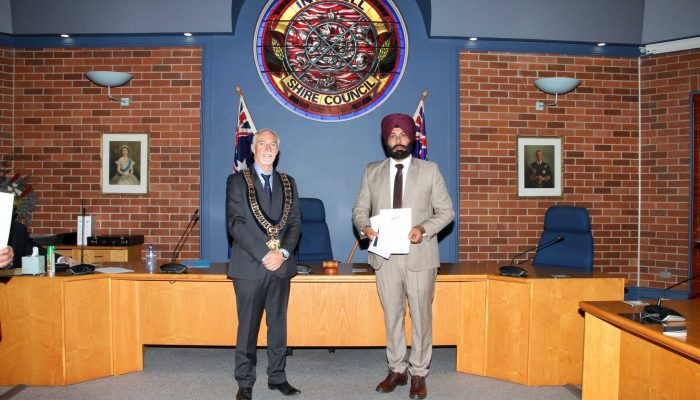 Citizenship recipient - Harinder Singh of India - July 2020 Citizenship Ceremony
