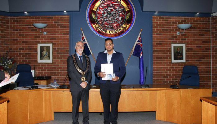 Citizenship recipient - Jheliton Martins da Silva of Brazil - July 2020 Citizenship Ceremony