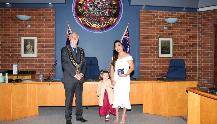 Citizenship recipient - Rosselle Zapata of the Philippines - July 2020 Citizenship Ceremony