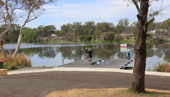 Lake Inverell Upgrade - Kayak Ramp