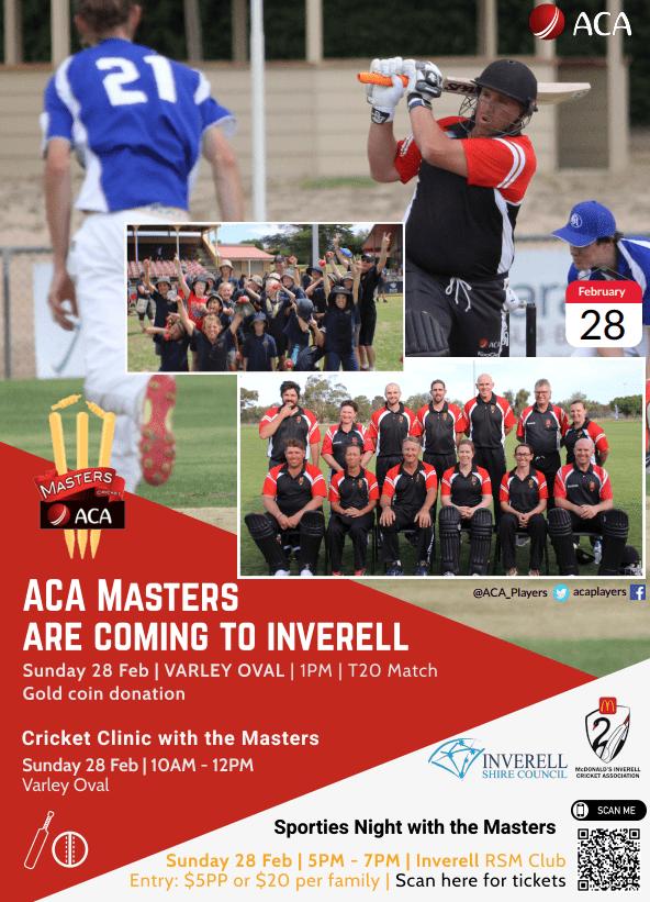 ACA Masters - 28 February 2021